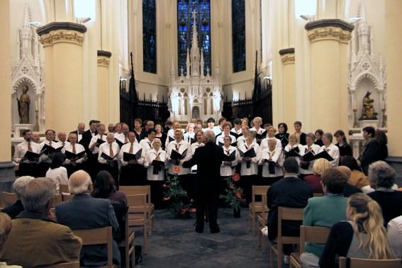 Concert à l'Eglise Saint-Martin en juin 2001