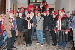 "Le Syndicat d'Initiative a remis les traditionnelles ""Casquettes rouges"""