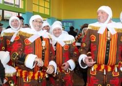 Le dimanche du Carnaval de Mont-Sainte-Aldegonde : les premiers gilles de l'année !