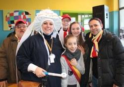Christelle Dutienne a reçu une médaille pour 40 ans de participation au carnaval de Mont-Sainte-Aldegonde (LesPaysans)