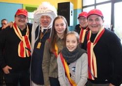 Christian Dutienne a reçu une médaille pour 60 ans de participation au carnaval de Mont-Sainte-Aldegonde (LesPaysans)