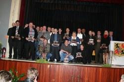 Mérites sportifs 2005 et 2006 : photo de groupe