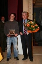 Mérite sportif communal individuel 2005 : Moreau Fabian
