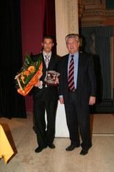 Merite sportif communal individuel 2006 : Canaris Sébastien