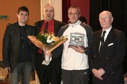 Mérite sportif individuel : Monsieur POURTOIT Ludovic (basket)