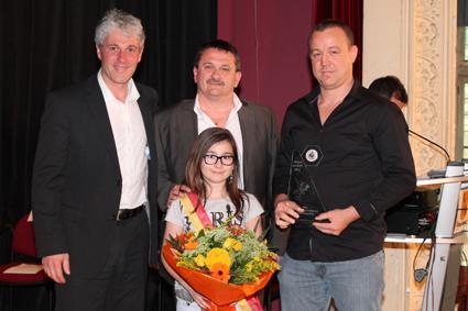 Prix du Collège communal 2012 : Le  Club Genkotsu (Ji-Jutsu)