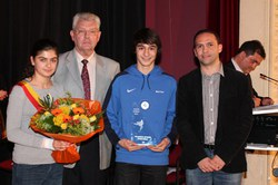 Prix communal de l'Espoir 2012 : Monsieur Mattéo Anzilao (Karaté)