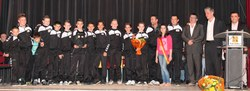 Mérite sportif communal par équipe 2012 : l'équipe Minimes EDJ Futsal Morlanwelz