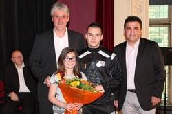 Mérite sportif communal individuel 2012 : Monsieur Stefano Lippolis (Foot en salle)