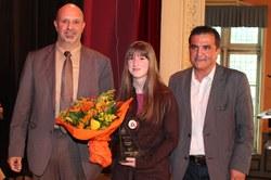 Prix communal de l'espoir : GRYSPEERT Anne-Lise