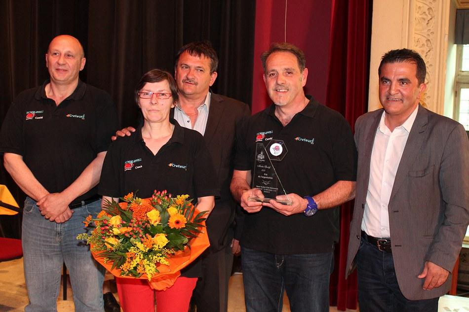 •Prix de l'organisation : Royal Basket Club Morlanwelz - Tournoi «F. Salvatore Lena»