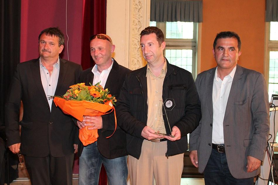 Prix de l'Echevin des sports : COUPIN Thierry