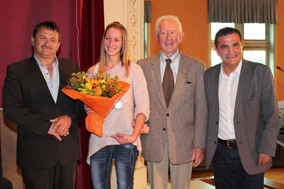 Mérite sportif communal individuel : HAMAIDE Mélanie