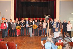 La photo de groupe - Mérites sportifs 2013