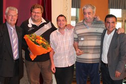 Mérite sportif communal par équipe : Ping-Pong Club Morlanwelz