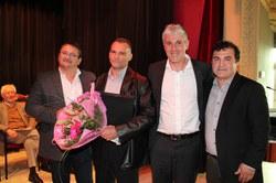 Prix de l'Echevin des Sports 2015 : COUPIN Thierry (Karaté)