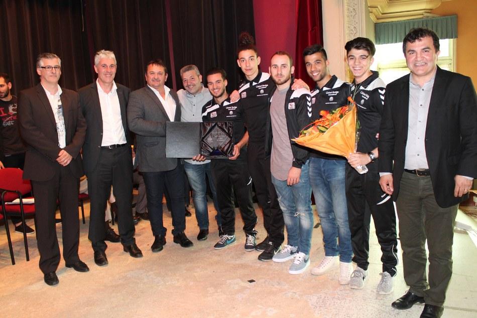 Mérite sportif communal par équipe 2015 : l'équipe Espoirs de l'EDJ Morlanwelz