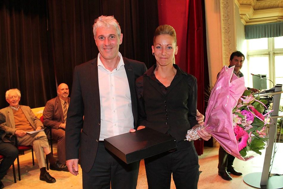 Mérite sportif communal individuel 2015 : HAMAIDE Mélanie (Karaté)