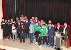 Les Mérites sportifs 2016 : photo de groupe