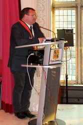 Discours du Bourgmestre, Christian MOUREAU