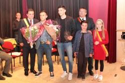 Prix Communal de l'Espoir : Medhi BRAHMI (futsal) et Louis SERB (karaté)