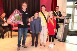 Prix du Collège communal : l'Ecole des Jeunes du Royal Basket Club de Morlanwelz (RBCM)