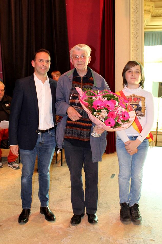 Prix de l'échevin des sports : Maurice VASSART (arbitre basket)