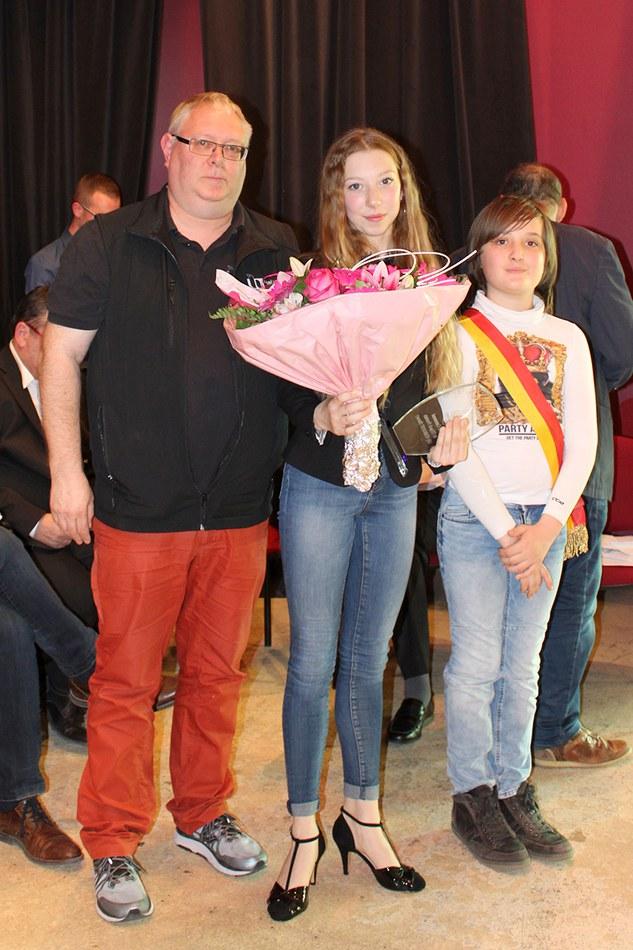 Prix communal de l'espoir - catégorie femme : Lily VERWOERT (danse)