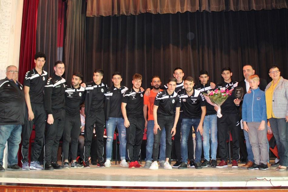 Mérite sportif par équipe : SAV Futsal Morlanwelz (futsal)