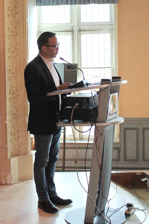 Discours de l'échevin des sports, Gérard MATTIA