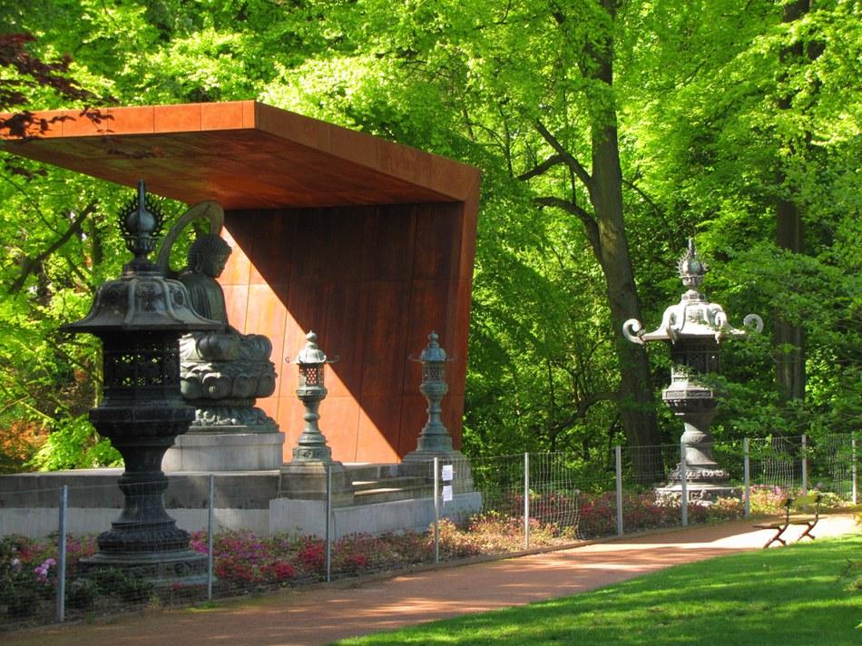 Bouddha à Mariemont