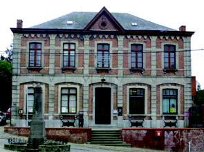 L'Hôtel communal de Mont-Sainte-Aldegonde