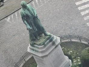 La Statue d'Abel Warocqué